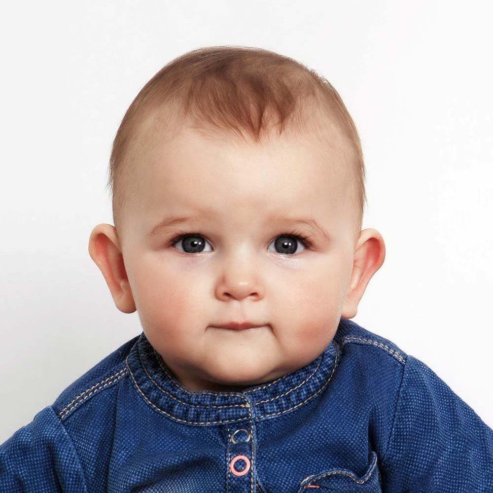 Passaufnahmen von Babys und Kleinkindern